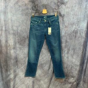 NWT Mother Crop Slasher Skinny Jeans Size 27